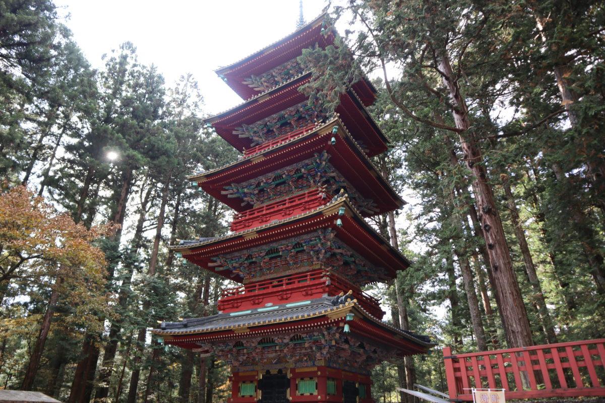 日光東照宮 重要文化財五重塔