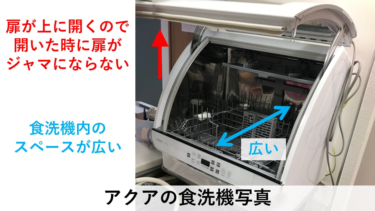 アクア食洗機写真